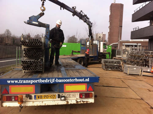 Transportbedrijf - Bas OOsterhout - Nieuwe vrachtwagen (2)